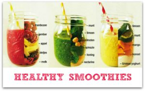 afval smoothies