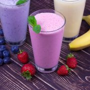 http://www.dreamstime.com/stock-photo-milkshakes-strawberry-banana-blueberry-image44512440